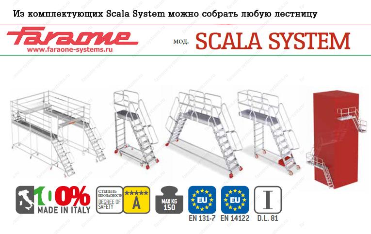 Лестница Faraone для Skala System 60˚ SC60