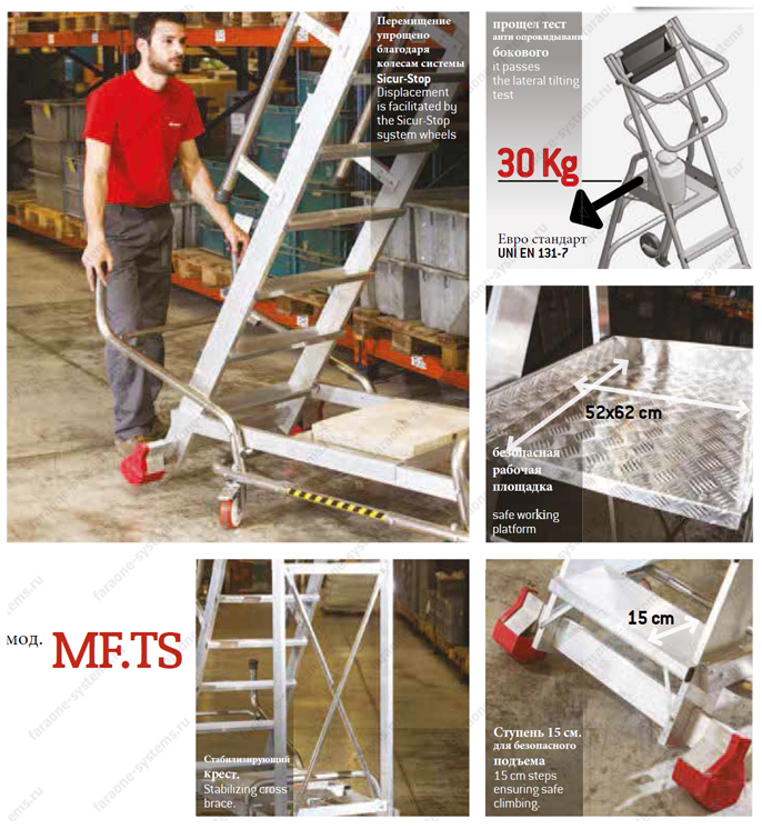Промышленная платформа 150/MFTS